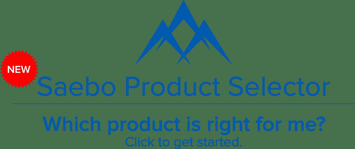 Saebo Product Selector