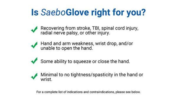 SaeboGlove Indications