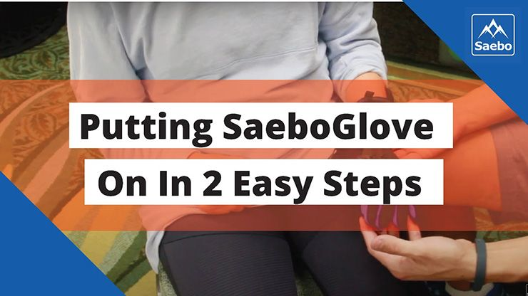 Putting SaeboGlove On In 2 Easy Steps