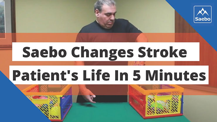 Saebo Changes Stroke Patient's Life in 5 Minutes
