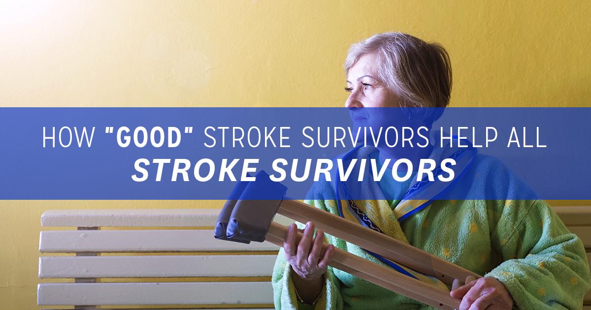 How good stroke survivors help all stroke survivors