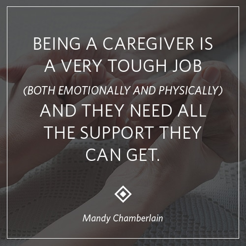 Stroke Recovery caregiver-quote