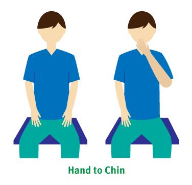 hand-to-chin