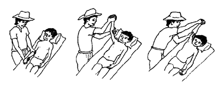 motion-excercise-stretch during stage 3 of stroke recovery