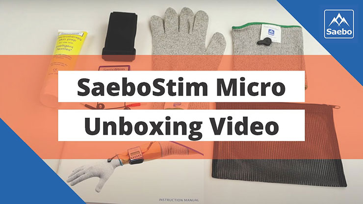 SaeboStim Micro Unboxing Video