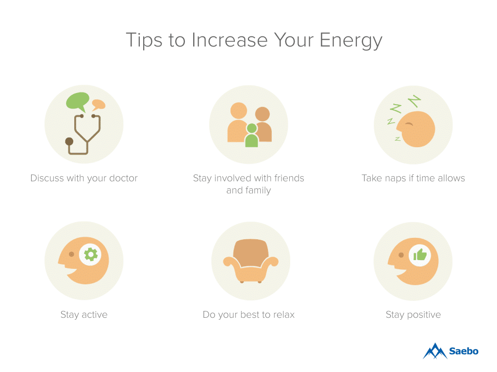 Tips to Increase Your Energy, Tips to Increase Your Energy After a Stroke, Increase Your Energy After a Stroke