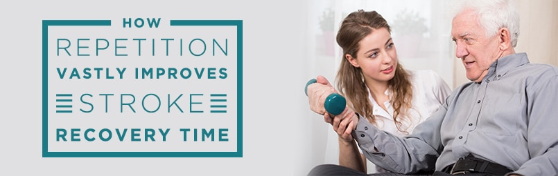 [BLOG POST] Repetition Improves Stroke Recovery Time – Saebo