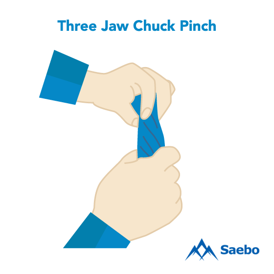 Exercise #12: Three Jaw Chuck Pinch Exercises for Stroke Recovery Survivors & Patients at Home