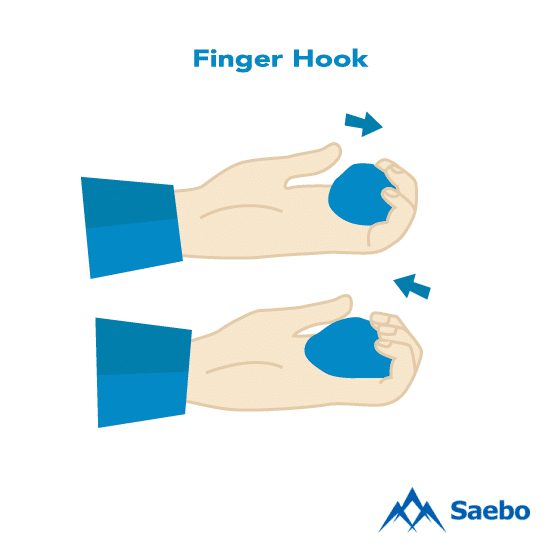 Exercise #13: Finger Hook Exercises for Stroke Recovery Survivors & Patients at Home