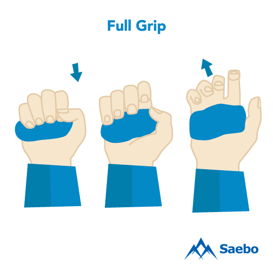 Exercise #14: Full Grip Exercises for Stroke Recovery Survivors & Patients at Home
