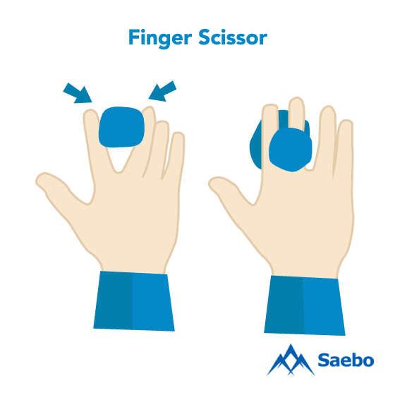 Exercise #17: Finger Scissor Exercises for Stroke Recovery Survivors & Patients at Home