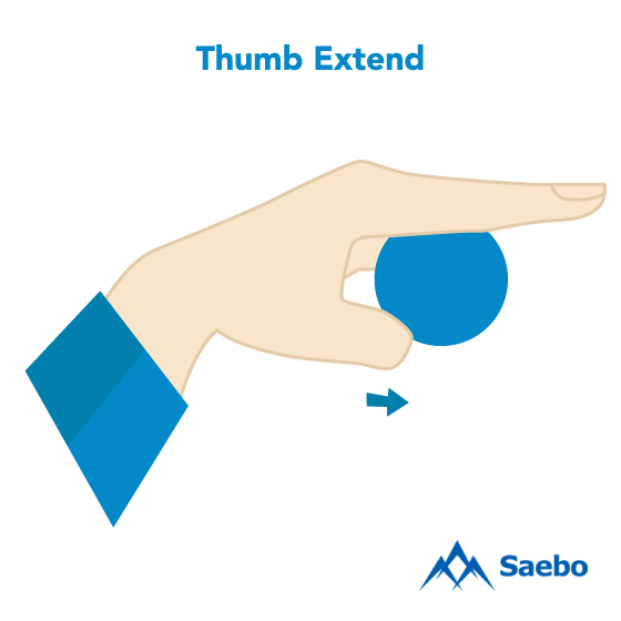 Exercise #2: Thumb Extend Exercises for Stroke Recovery Survivors & Patients at Home