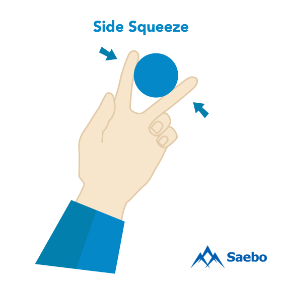 Exercise #5:  Side Squeeze Exercises for Stroke Recovery Survivors & Patients at Home