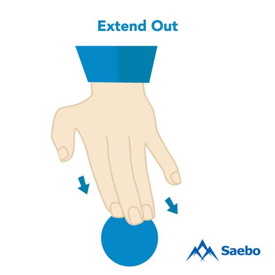 Exercise #6: Extend Out Exercises for Stroke Recovery Survivors & Patients at Home