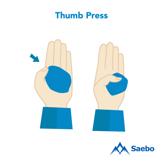 Exercise #8: Thumb Press Exercises for Stroke Recovery Survivors & Patients at Home