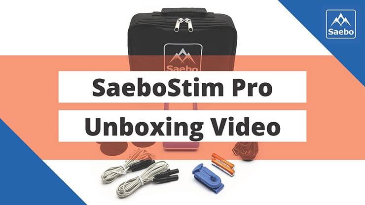 SaeboStim Pro Unboxing Video